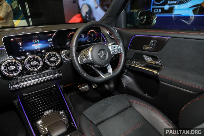 X247 Mercedes-Benz GLB SUV launched in Malaysia – seven-seat GLB200, GLB250 4Matic; from RM269k Image #1180442