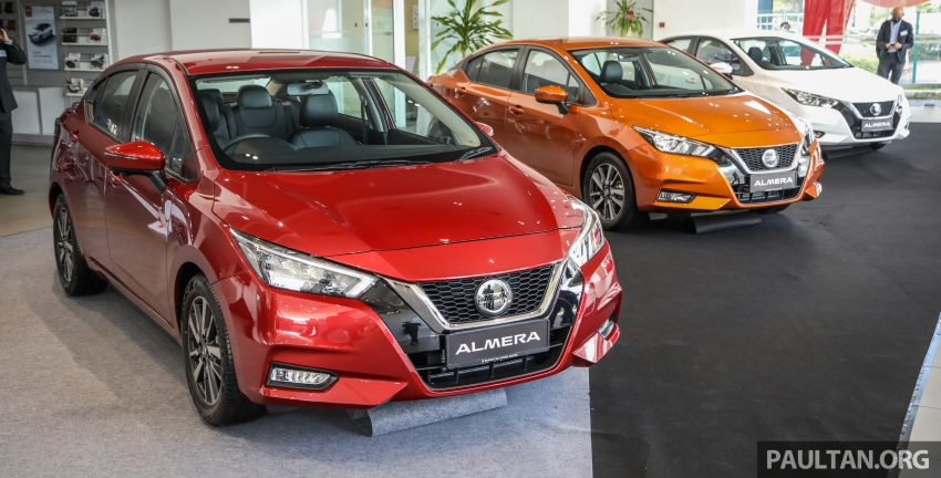 2020 Nissan Almera Turbo in Malaysia – 1.0 litre turbo CVT, AEB on all three variants, from RM8xk to RM9xk Image #1172074