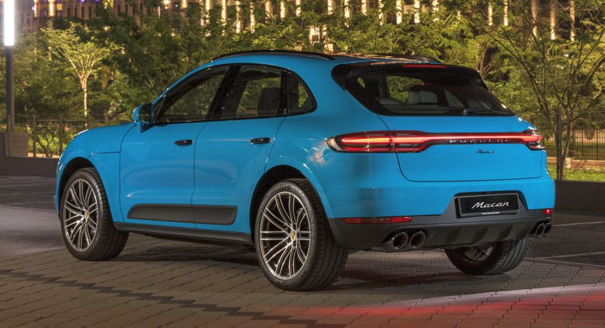 2020 Porsche Macan – new standard equipment worth RM39k added, including PASM; priced from RM439k Image #1174747