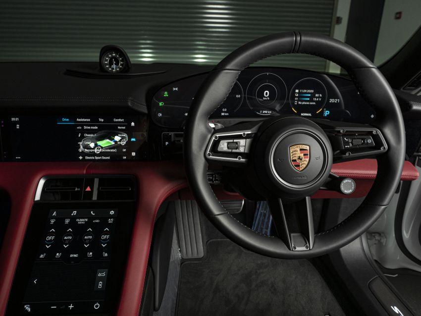 Porsche Taycan tiba di Malaysia – tiga varian, harga RM725k – RM1.2 juta, jarak gerak hingga 464 km Image #1178393