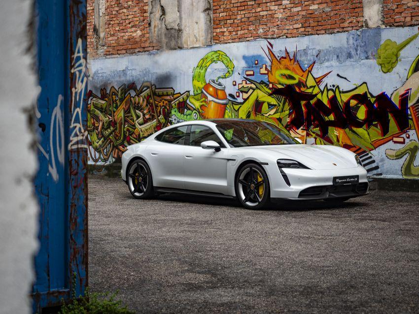 Porsche Taycan tiba di Malaysia – tiga varian, harga RM725k – RM1.2 juta, jarak gerak hingga 464 km Image #1178410