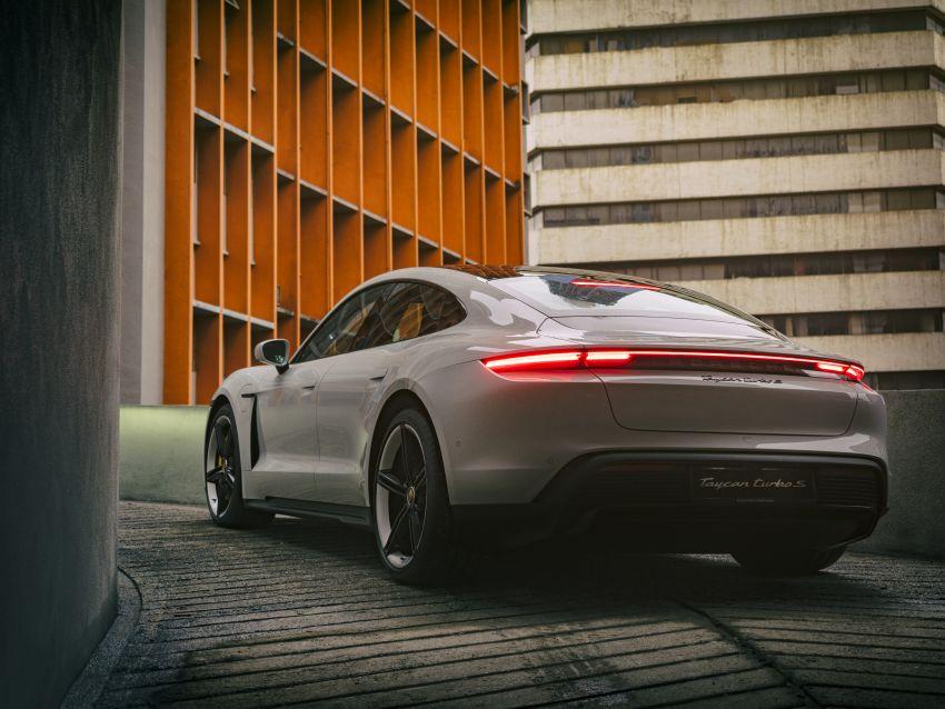 Porsche Taycan tiba di Malaysia – tiga varian, harga RM725k – RM1.2 juta, jarak gerak hingga 464 km Image #1178406