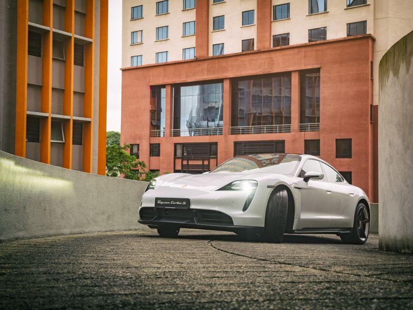 Porsche Taycan tiba di Malaysia – tiga varian, harga RM725k – RM1.2 juta, jarak gerak hingga 464 km Image #1178396