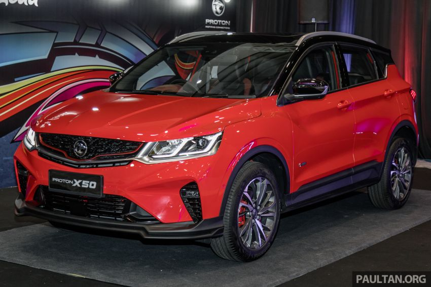 Proton X50 SUV previewed – 4 variants, 6 colours, 1.5TGDi and 7DCT, Level 2 semi-autonomous driving Image #1177218