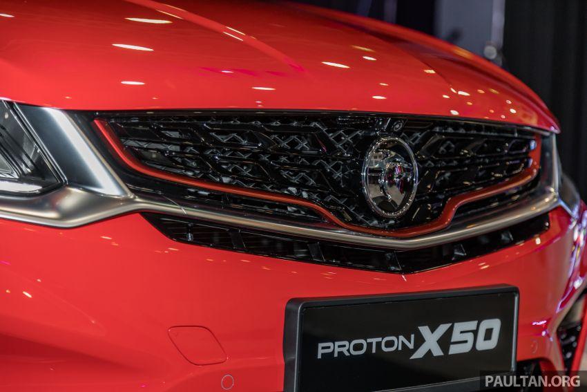 Proton X50 SUV previewed – 4 variants, 6 colours, 1.5TGDi and 7DCT, Level 2 semi-autonomous driving Image #1177230