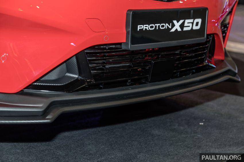 Proton X50 SUV previewed – 4 variants, 6 colours, 1.5TGDi and 7DCT, Level 2 semi-autonomous driving Image #1177232