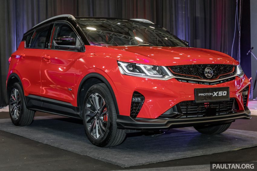 Proton X50 SUV previewed – 4 variants, 6 colours, 1.5TGDi and 7DCT, Level 2 semi-autonomous driving Image #1177219