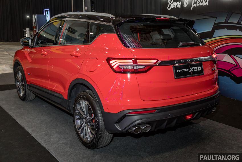 Proton X50 SUV previewed – 4 variants, 6 colours, 1.5TGDi and 7DCT, Level 2 semi-autonomous driving Image #1177220