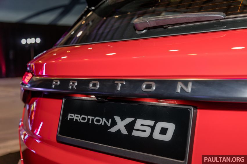 Proton X50 SUV previewed – 4 variants, 6 colours, 1.5TGDi and 7DCT, Level 2 semi-autonomous driving Image #1177252