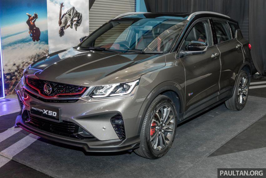 Proton X50 SUV previewed – 4 variants, 6 colours, 1.5TGDi and 7DCT, Level 2 semi-autonomous driving Image #1177259