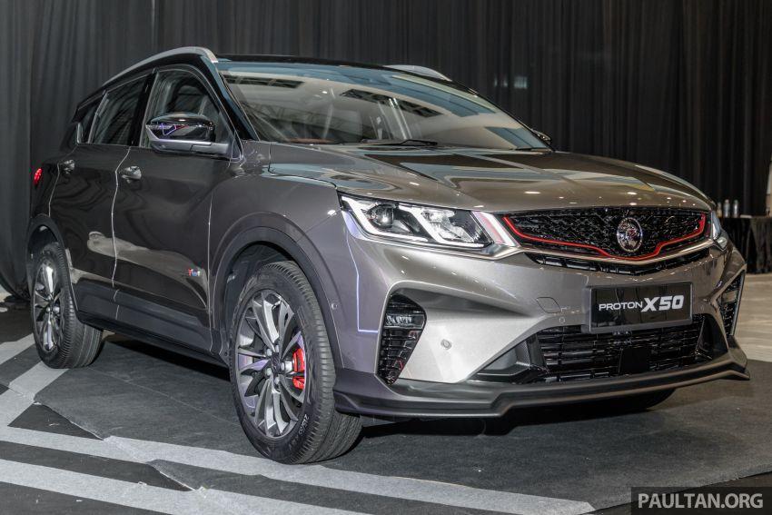Proton X50 SUV previewed – 4 variants, 6 colours, 1.5TGDi and 7DCT, Level 2 semi-autonomous driving Image #1177260