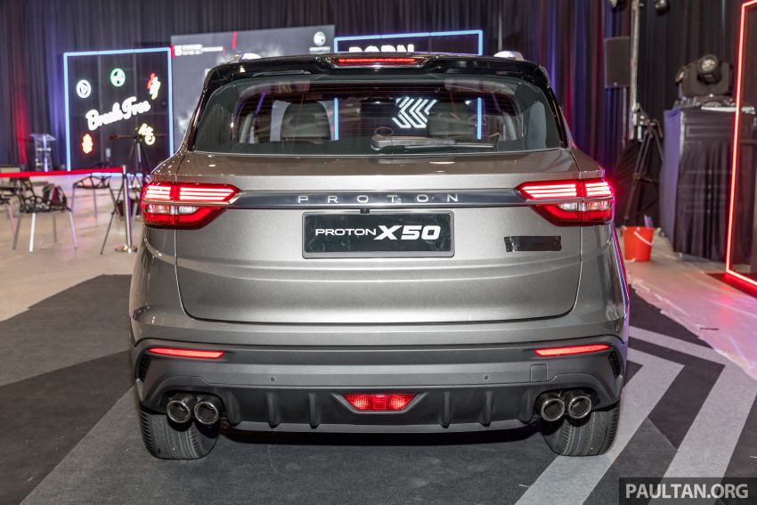 Proton X50 SUV previewed – 4 variants, 6 colours, 1.5TGDi and 7DCT, Level 2 semi-autonomous driving Image #1177266