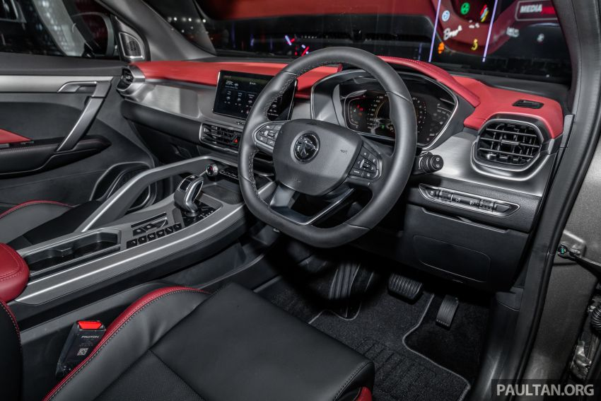 Proton X50 SUV previewed – 4 variants, 6 colours, 1.5TGDi and 7DCT, Level 2 semi-autonomous driving Image #1177268