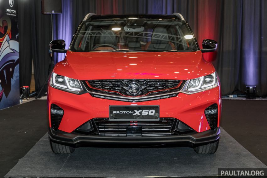 Proton X50 SUV previewed – 4 variants, 6 colours, 1.5TGDi and 7DCT, Level 2 semi-autonomous driving Image #1177224