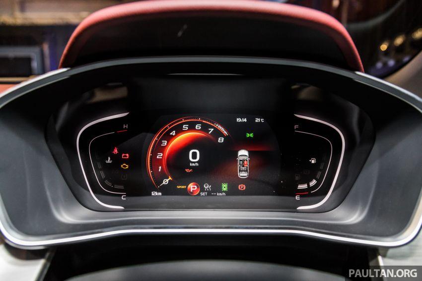 Proton X50 SUV previewed – 4 variants, 6 colours, 1.5TGDi and 7DCT, Level 2 semi-autonomous driving Image #1177281