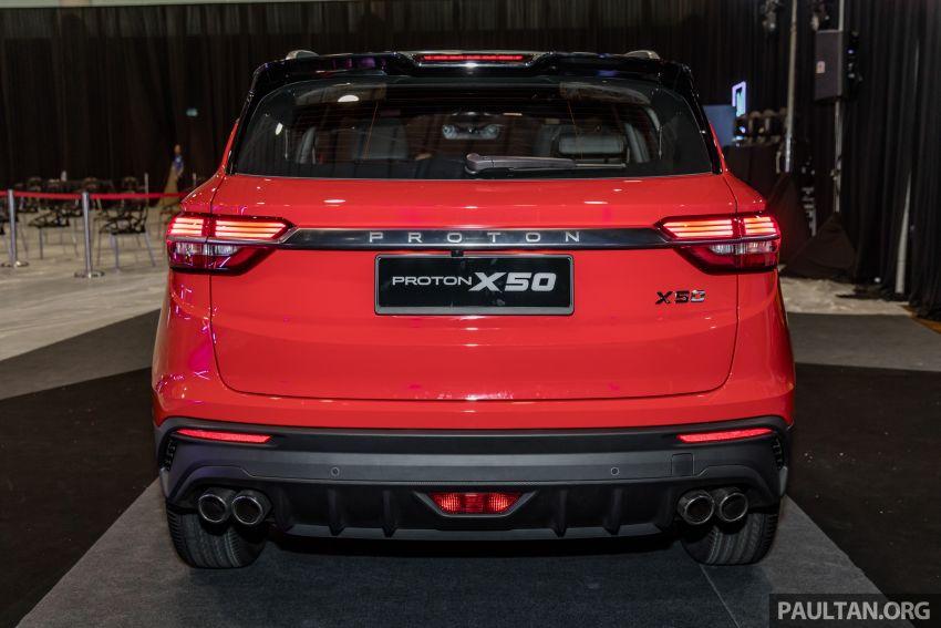 Proton X50 SUV previewed – 4 variants, 6 colours, 1.5TGDi and 7DCT, Level 2 semi-autonomous driving Image #1177225