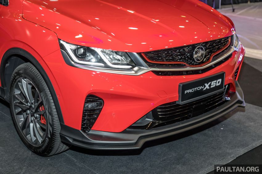 Proton X50 SUV previewed – 4 variants, 6 colours, 1.5TGDi and 7DCT, Level 2 semi-autonomous driving Image #1177227