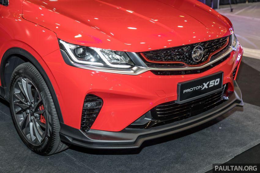 Proton X50 SUV previewed – 4 variants, 6 colours, 1.5TGDi and 7DCT, Level 2 semi-autonomous driving Image #1177227