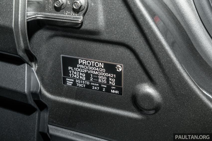 Proton X50 SUV previewed – 4 variants, 6 colours, 1.5TGDi and 7DCT, Level 2 semi-autonomous driving Image #1177308
