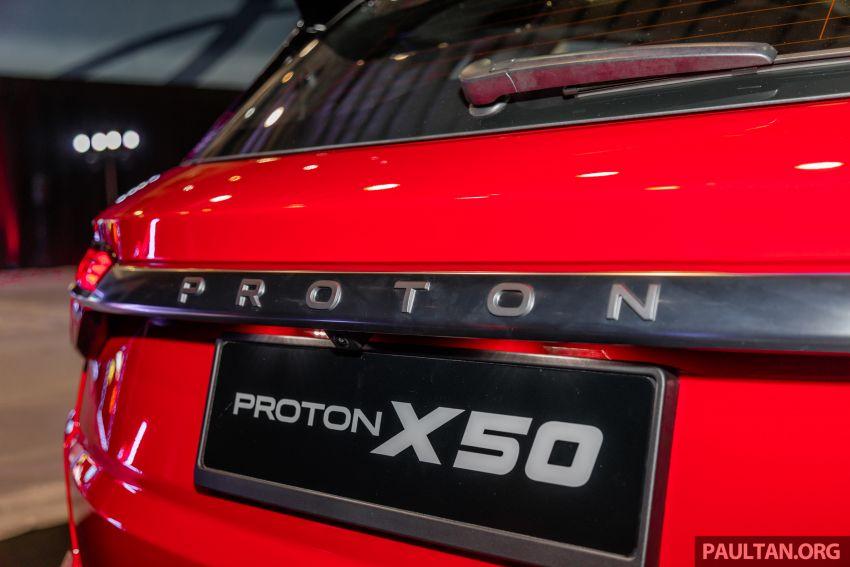 Proton X50 ditunjuk secara rasmi – tempahan dibuka, TGDi 1.5L 3-silinder, ciri semi autonomous Tahap 2 Image #1176743
