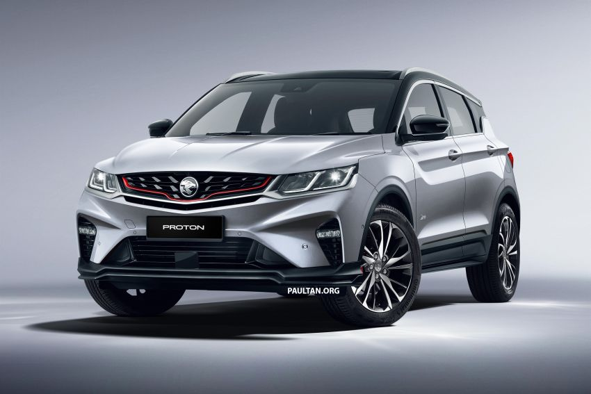 Proton X50 SUV previewed – 4 variants, 6 colours, 1.5TGDi and 7DCT, Level 2 semi-autonomous driving Image #1177358