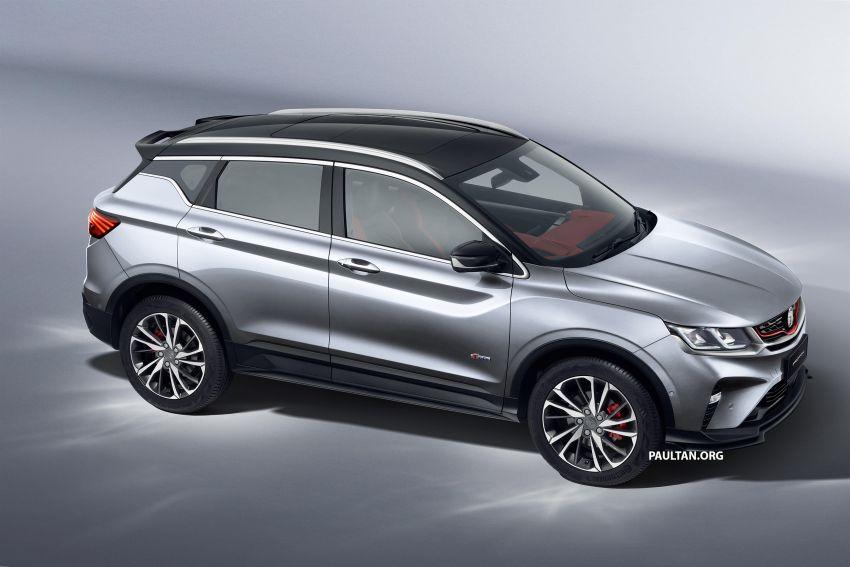 Proton X50 SUV previewed – 4 variants, 6 colours, 1.5TGDi and 7DCT, Level 2 semi-autonomous driving Image #1177365