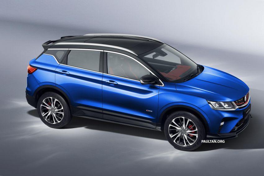 Proton X50 SUV previewed – 4 variants, 6 colours, 1.5TGDi and 7DCT, Level 2 semi-autonomous driving Image #1177367