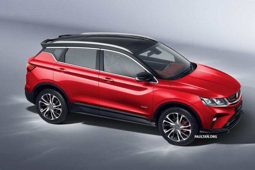 Proton X50 SUV previewed – 4 variants, 6 colours, 1.5TGDi and 7DCT, Level 2 semi-autonomous driving Image #1177368