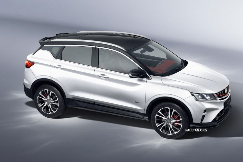 Proton X50 SUV previewed – 4 variants, 6 colours, 1.5TGDi and 7DCT, Level 2 semi-autonomous driving Image #1177369
