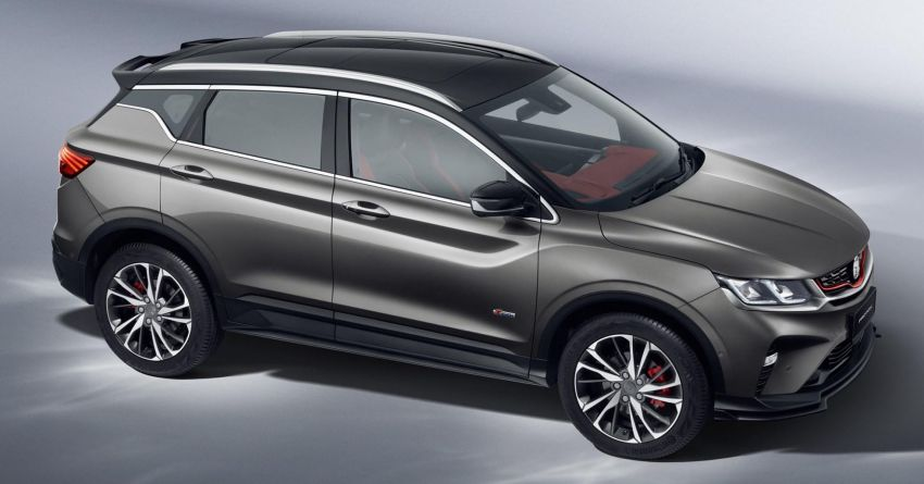 2020 Proton X50 officially revealed with two-tone red/black exterior and interior, Infinite Weave grille Image #1175344