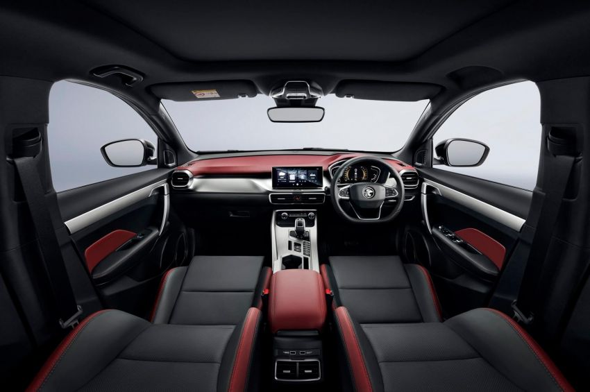 2020 Proton X50 officially revealed with two-tone red/black exterior and interior, Infinite Weave grille Image #1175346