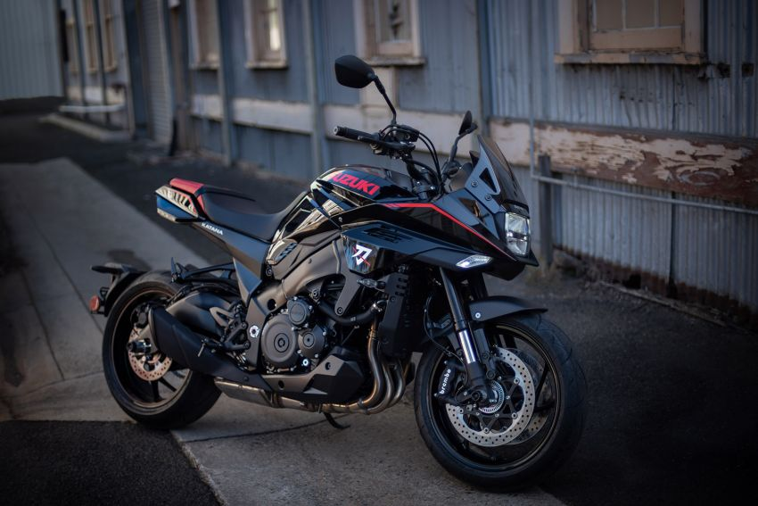 2020 Suzuki Katana with Shogun and Samurai limited edition accessory packs on sale in Australia Image #1170932
