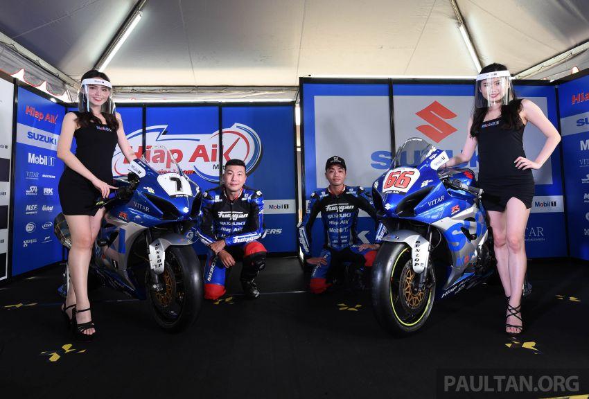 2020 MSBK: Team Hiap Aik Suzuki Racing launch Image #1179721