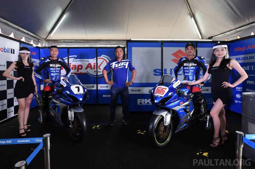 2020 MSBK: Team Hiap Aik Suzuki Racing launch Image #1179725
