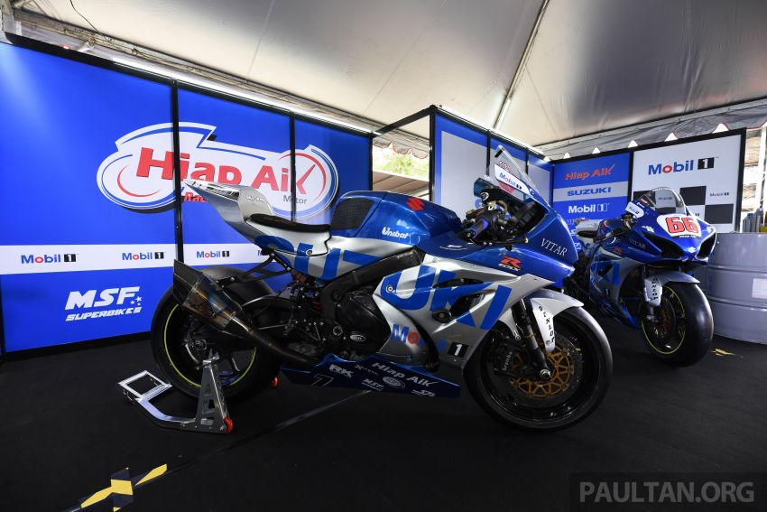 2020 MSBK: Team Hiap Aik Suzuki Racing launch Image #1179713