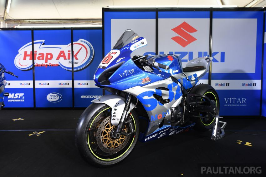 2020 MSBK: Team Hiap Aik Suzuki Racing launch Image #1179715