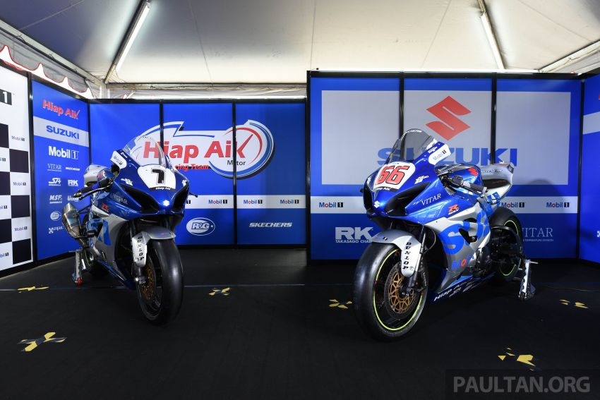 2020 MSBK: Team Hiap Aik Suzuki Racing launch Image #1179717