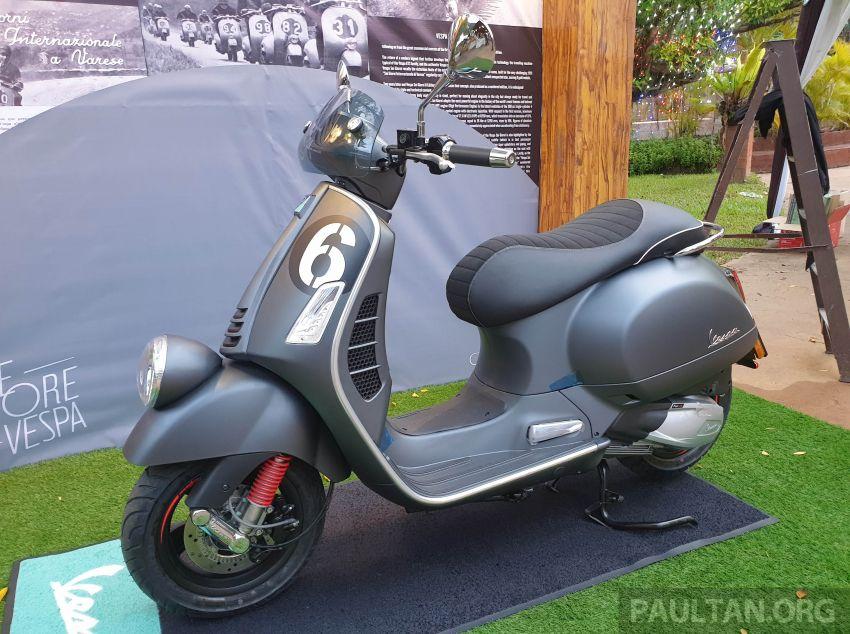 2020 Vespa Sei Giorni II now in Malaysia, RM34,500 Image #1169330