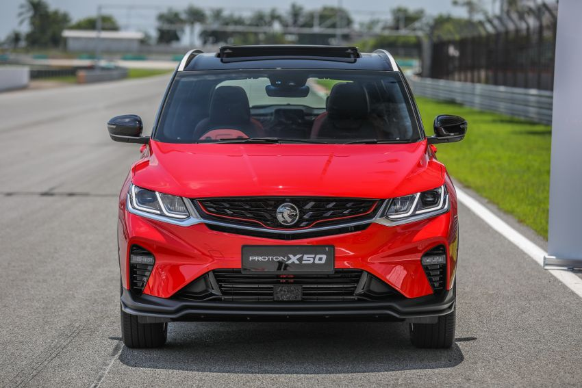 Proton X50 – 1.5T PFI port-injection three-cylinder turbo engine will be used on future Proton models Image #1186423