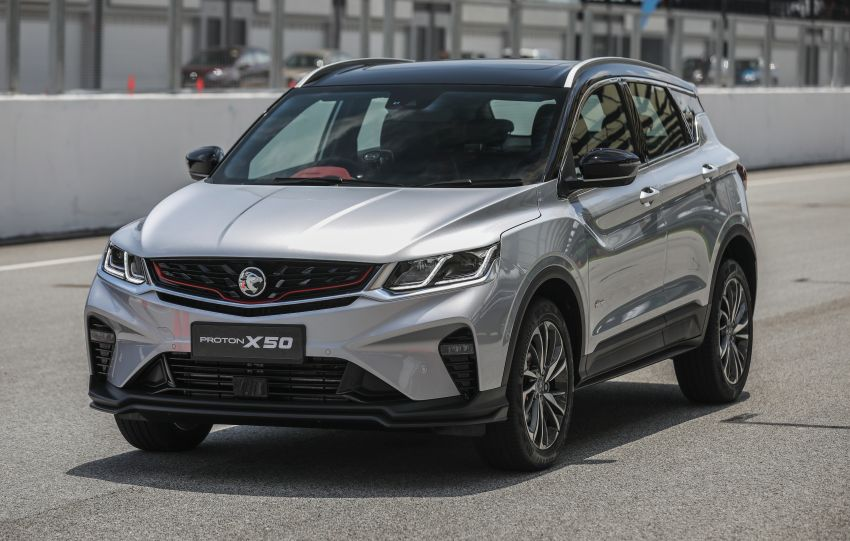 Proton X50 – 1.5T PFI port-injection three-cylinder turbo engine will be used on future Proton models Image #1186424