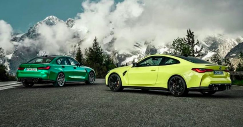 G80 BMW M3, G82 M4 images leaked ahead of debut Image #1180080