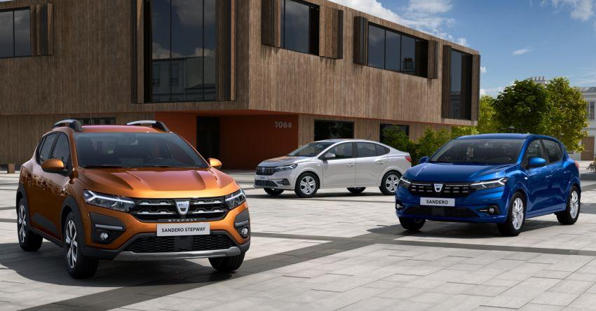 2021 Dacia Sandero, Sandero Stepway, Logan unveiled Image #1173083