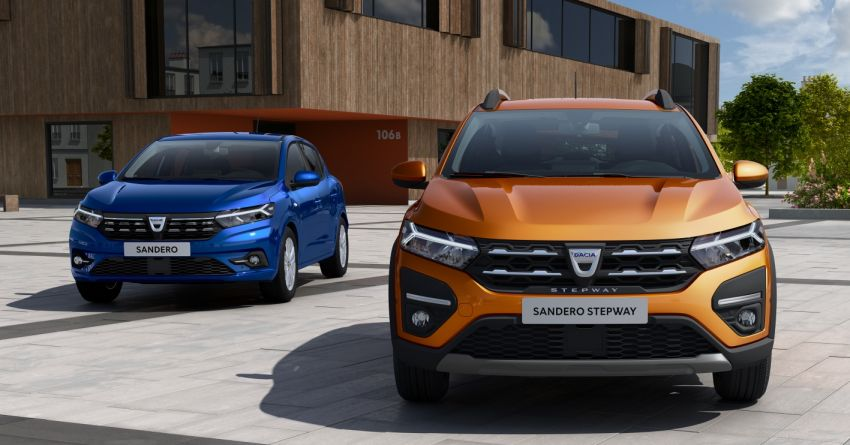 2021 Dacia Sandero, Sandero Stepway, Logan unveiled Image #1173081