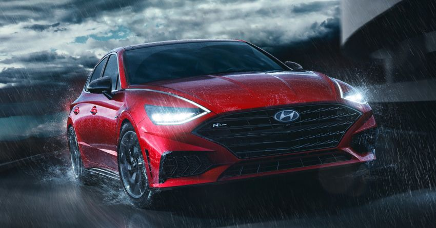 2021 Hyundai Sonata N Line – now with sportier looks Image #1180819
