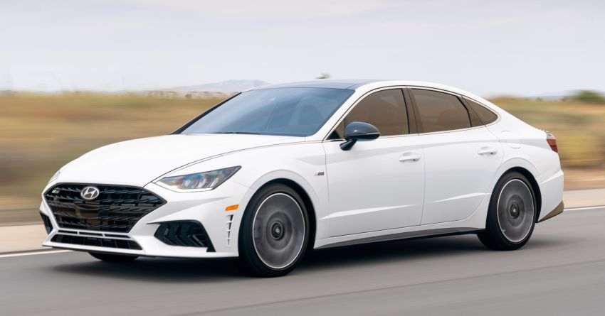 2021 Hyundai Sonata N Line – now with sportier looks Image #1180831