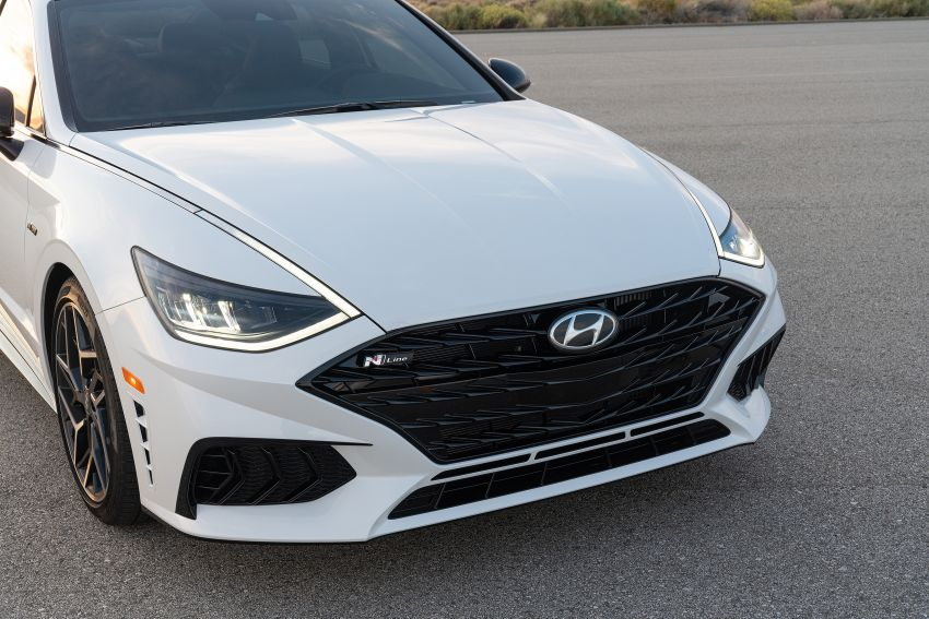 2021 Hyundai Sonata N Line – now with sportier looks Image #1180841
