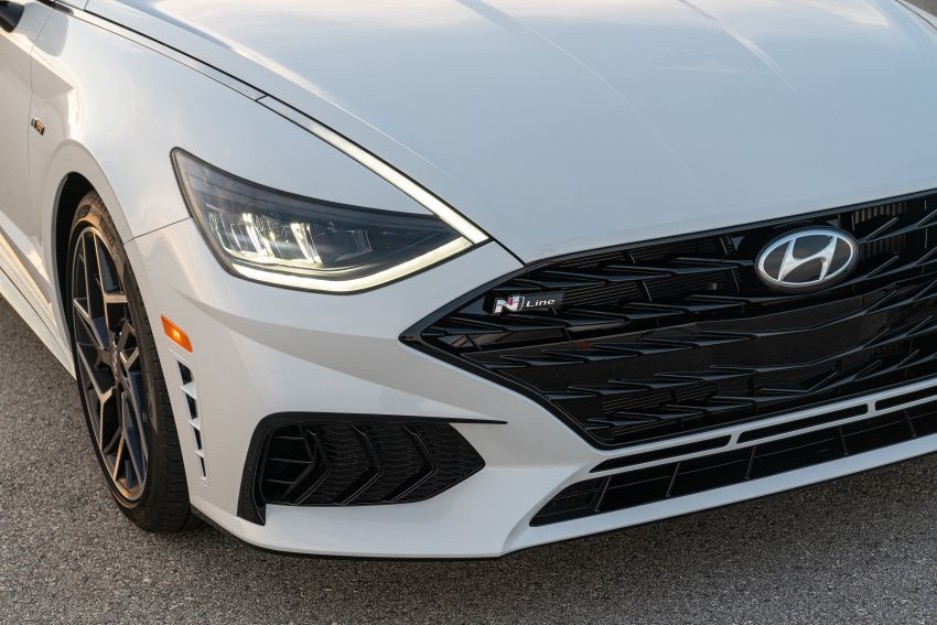 2021 Hyundai Sonata N Line – now with sportier looks Image #1180842