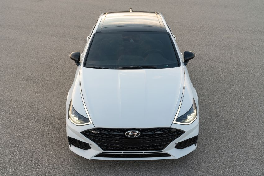2021 Hyundai Sonata N Line – now with sportier looks Image #1180843
