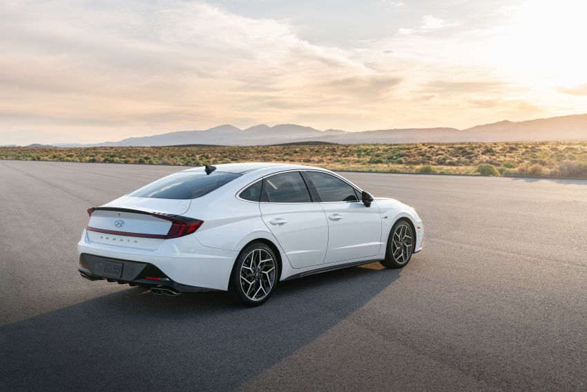 2021 Hyundai Sonata N Line – now with sportier looks Image #1180845