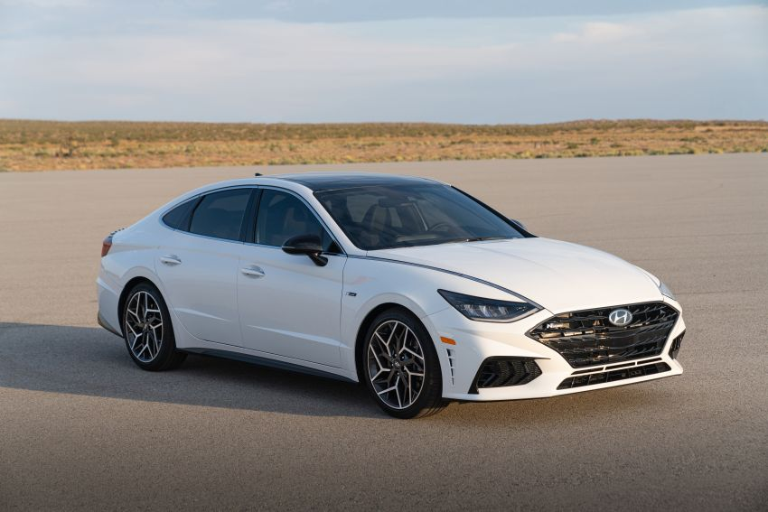 2021 Hyundai Sonata N Line – now with sportier looks Image #1180846